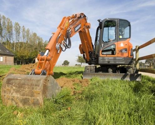 Doosan-Excavator-DX62R