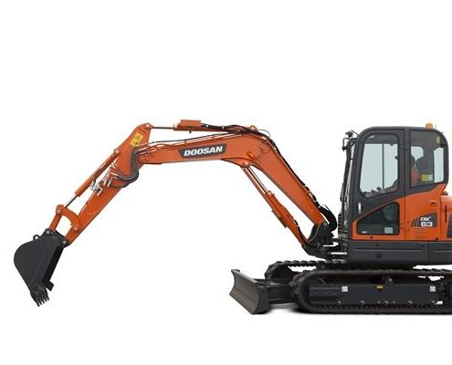 Doosan-Mini-Excavator-DX63-
