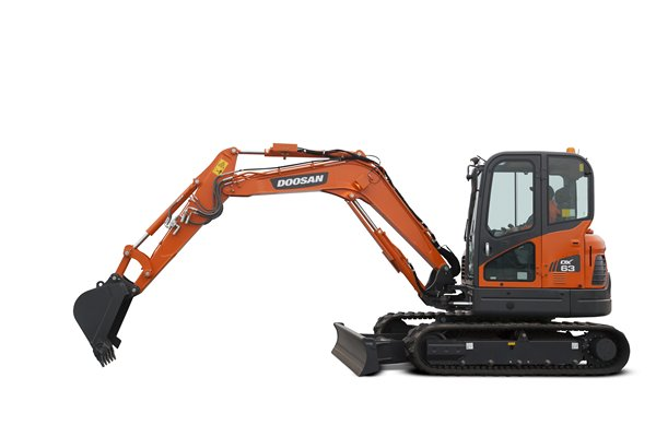 Doosan-Mini-Excavator-DX63-
